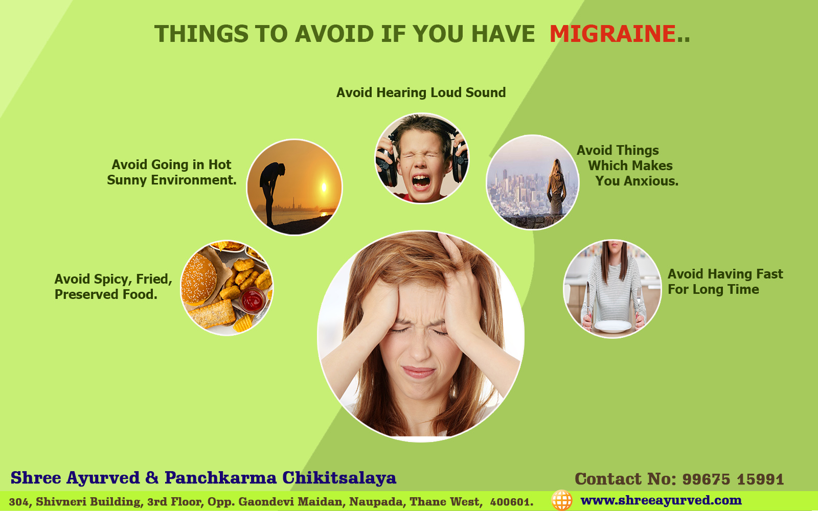 How to Avoid Migraine